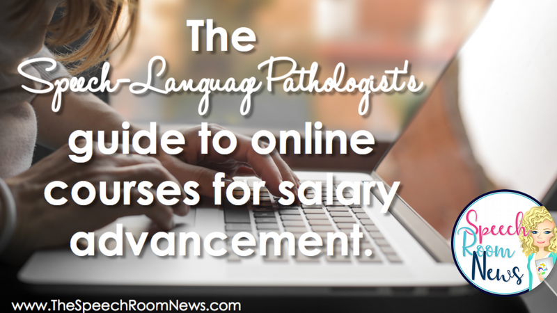 SLP Guide to Online Courses for Salary Advancement