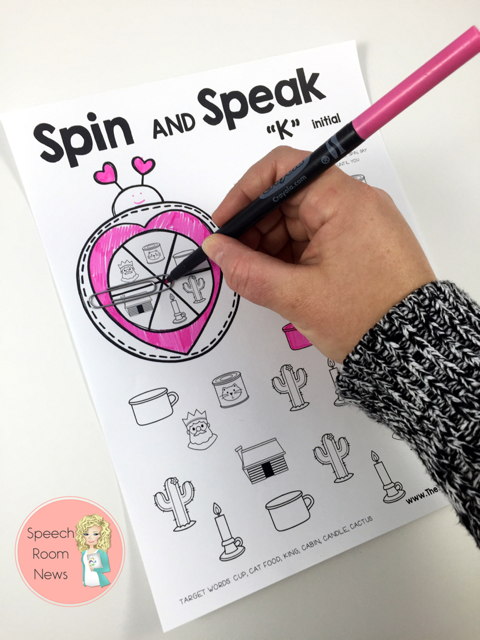 Spin and Speak