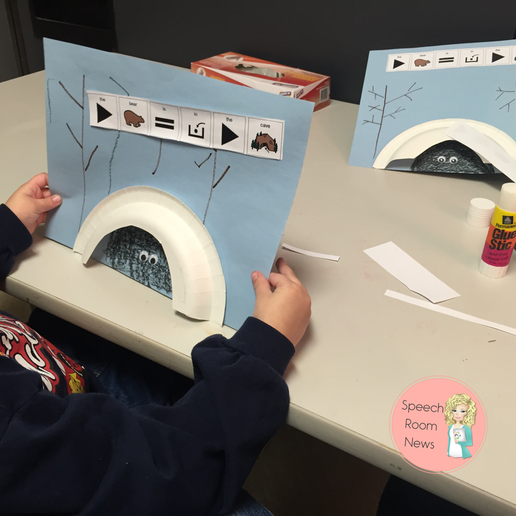 Bear Caves for Speech Therapy