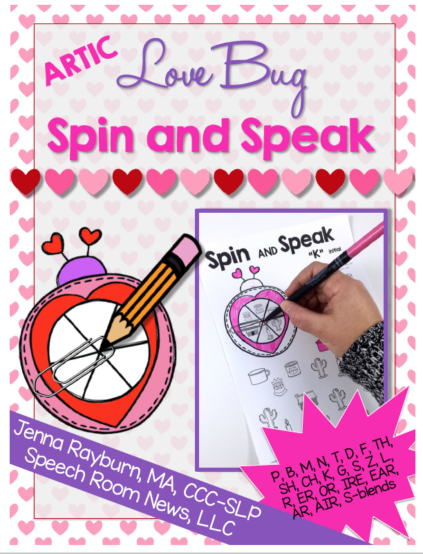 Spin and Speak Love Bugs