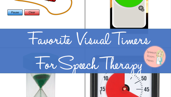 Favorite Visual Timers for Speech Therapy