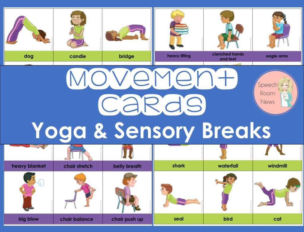 Yoga & Sensory Break Cards