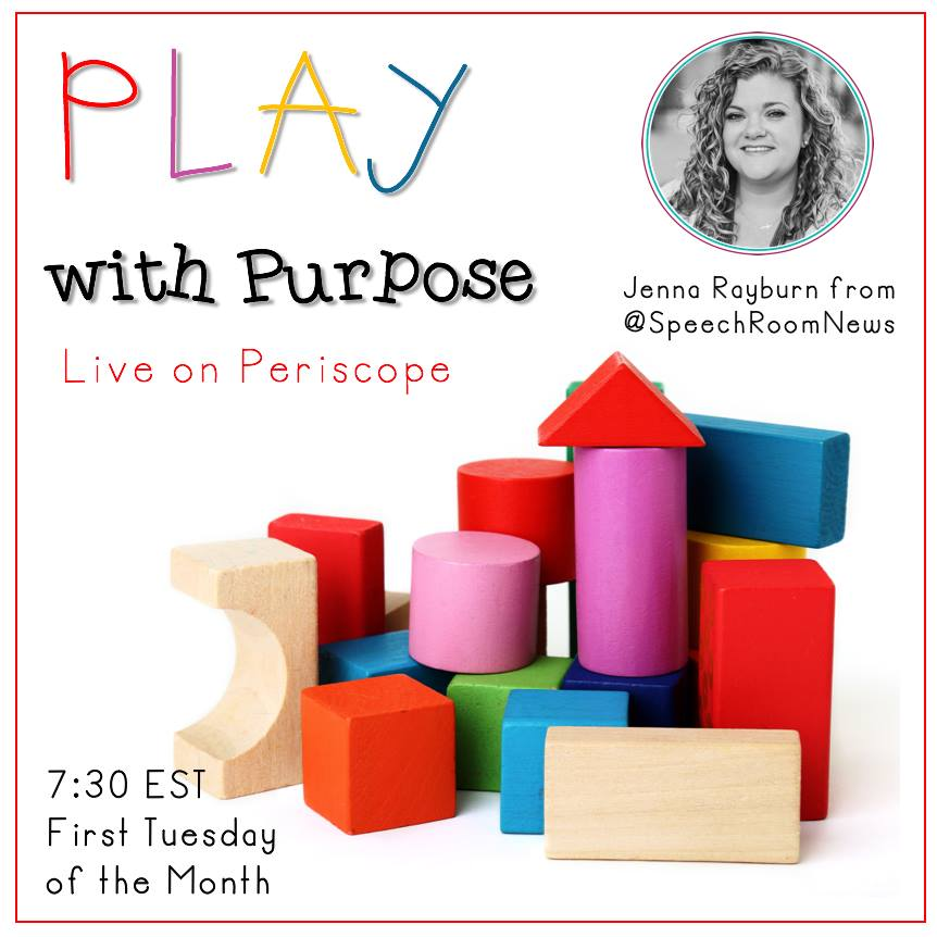 PLAY with Purpose: Live on Periscope Mondays at 730