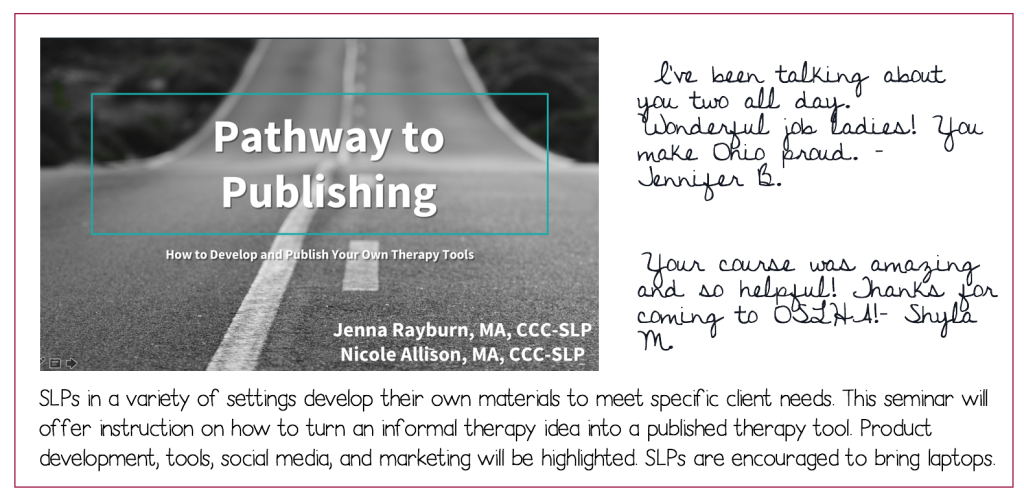 Pathway to Publishing