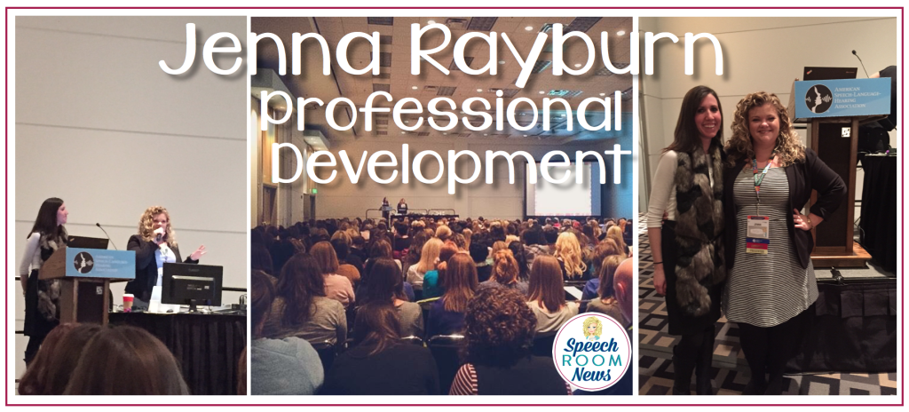 Jenna Rayburn, Professional Development