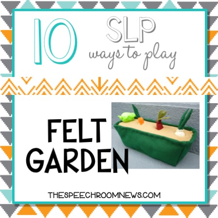 10 SLP ways to play: Felt Garden
