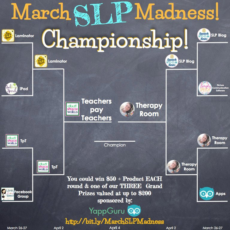 March SLP Madness Championship