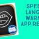 Speech & Language Warm-Ups App Review