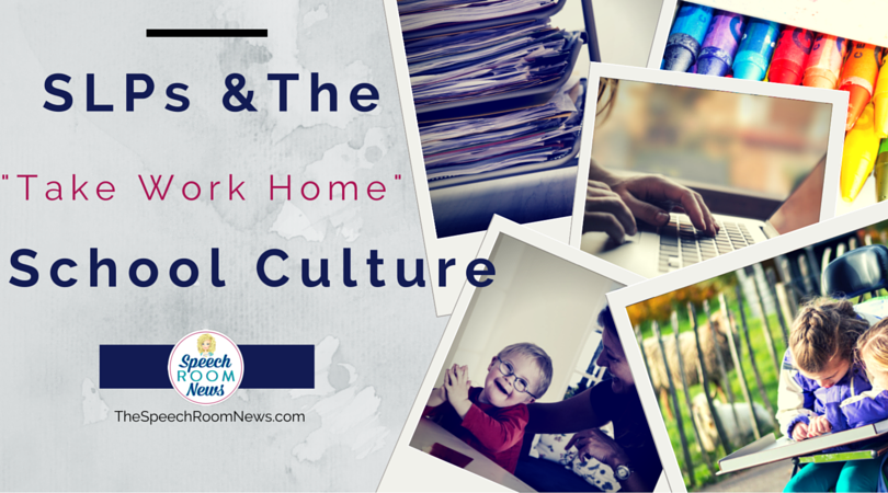 The Take Work Home Culture of Schools