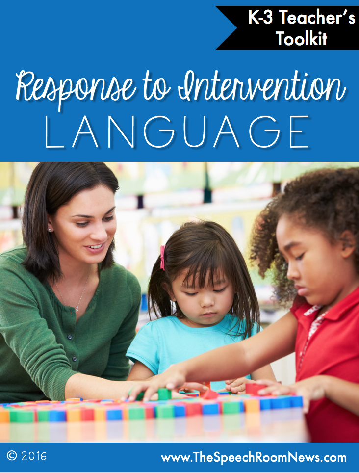 Response to Intervention Language Teacher's Guide
