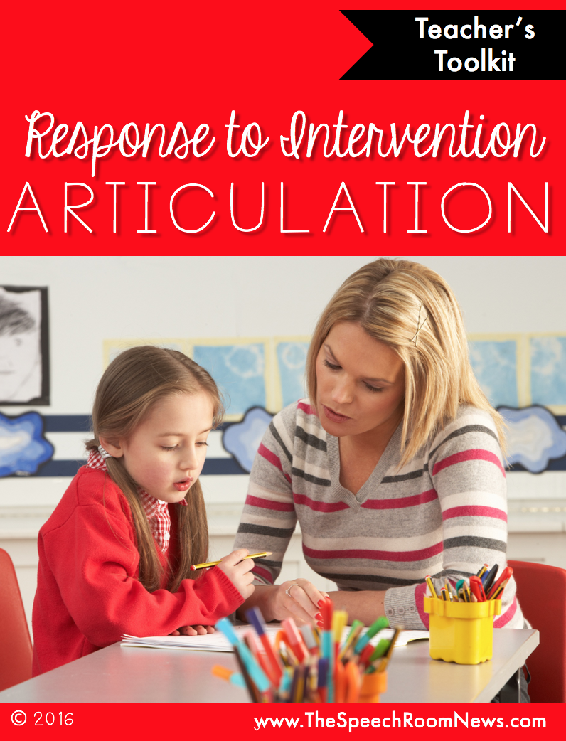 Response to Intervention: Articulation