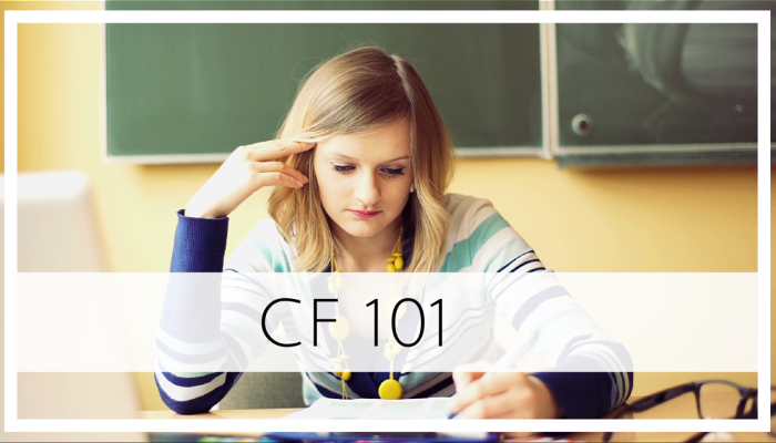 CF 101: Online Course for SLPs during their CF