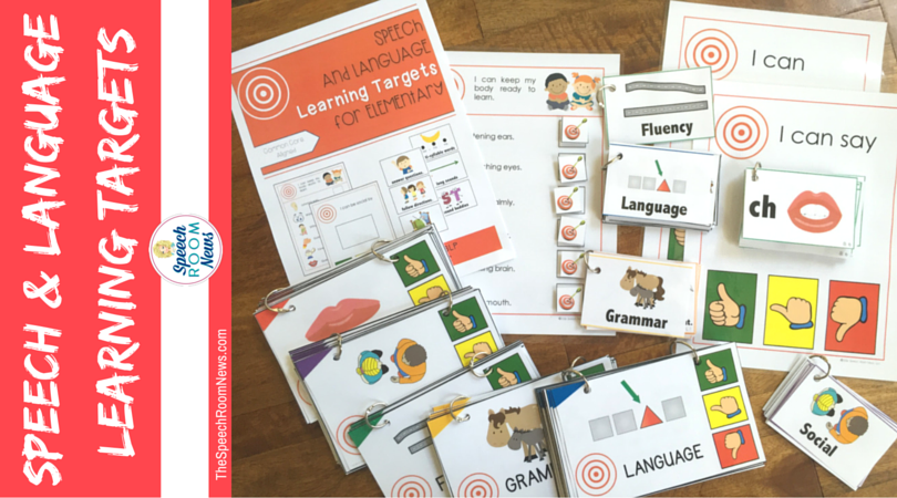 Speech & Language Learning Targets