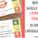 Why you should use speech therapy learning targets.