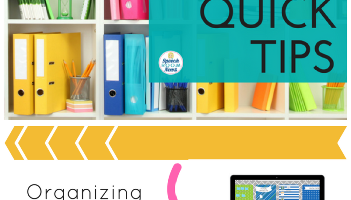 Organization Quick Tip: Desktop Computer