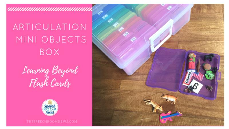 Articulation Mini Objects Box