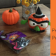 Dollar Store Preschool Pumpkins