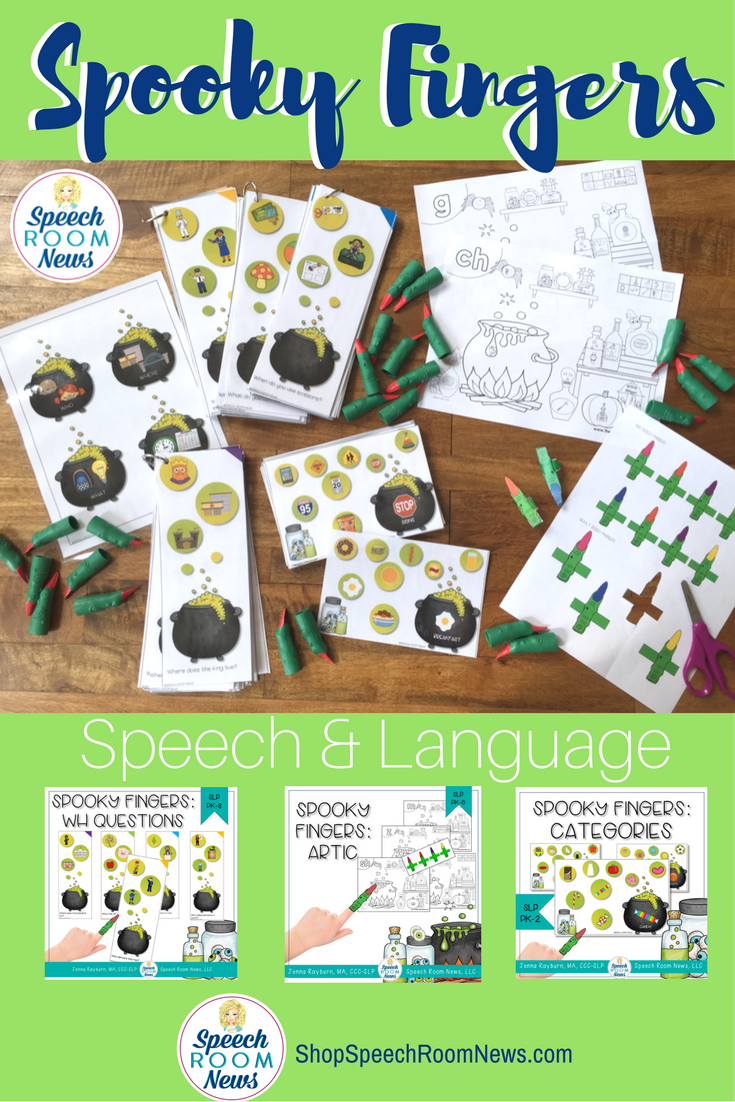Spooky Fingers Speech & Language