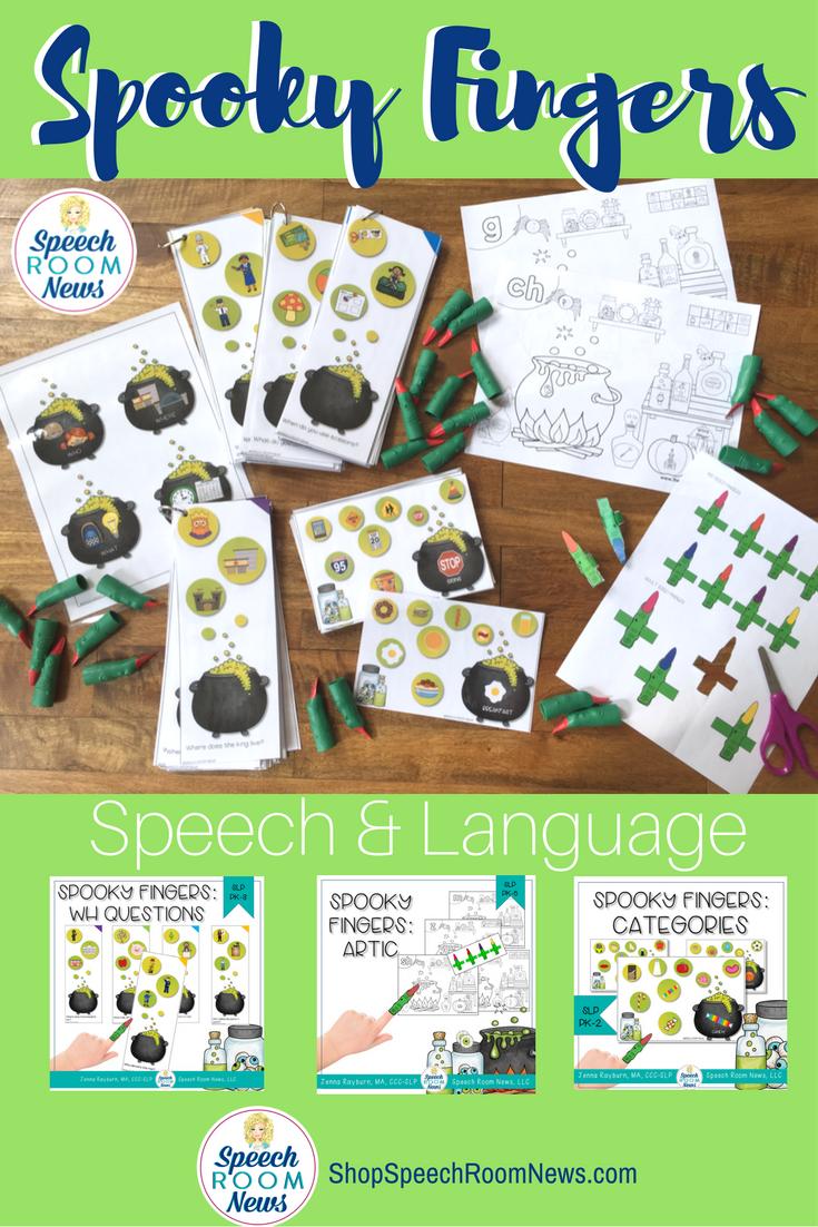 Spooky Fingers Speech & Language