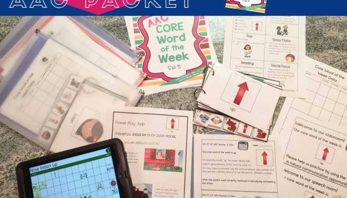 AAC Core Word of the Week: Bundle
