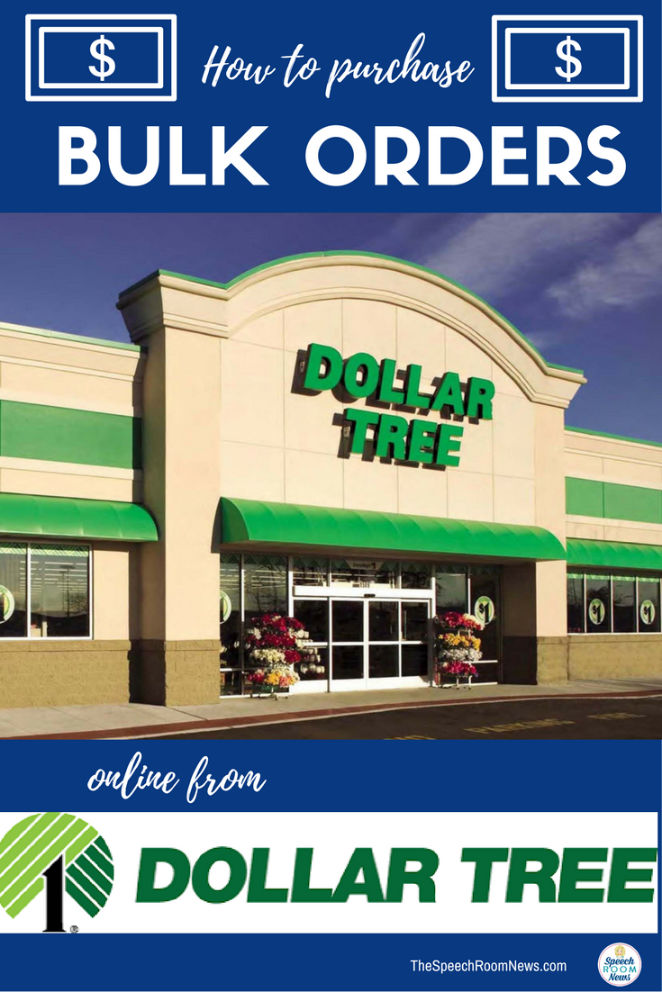 How to order online in bulk from Dollar Tree