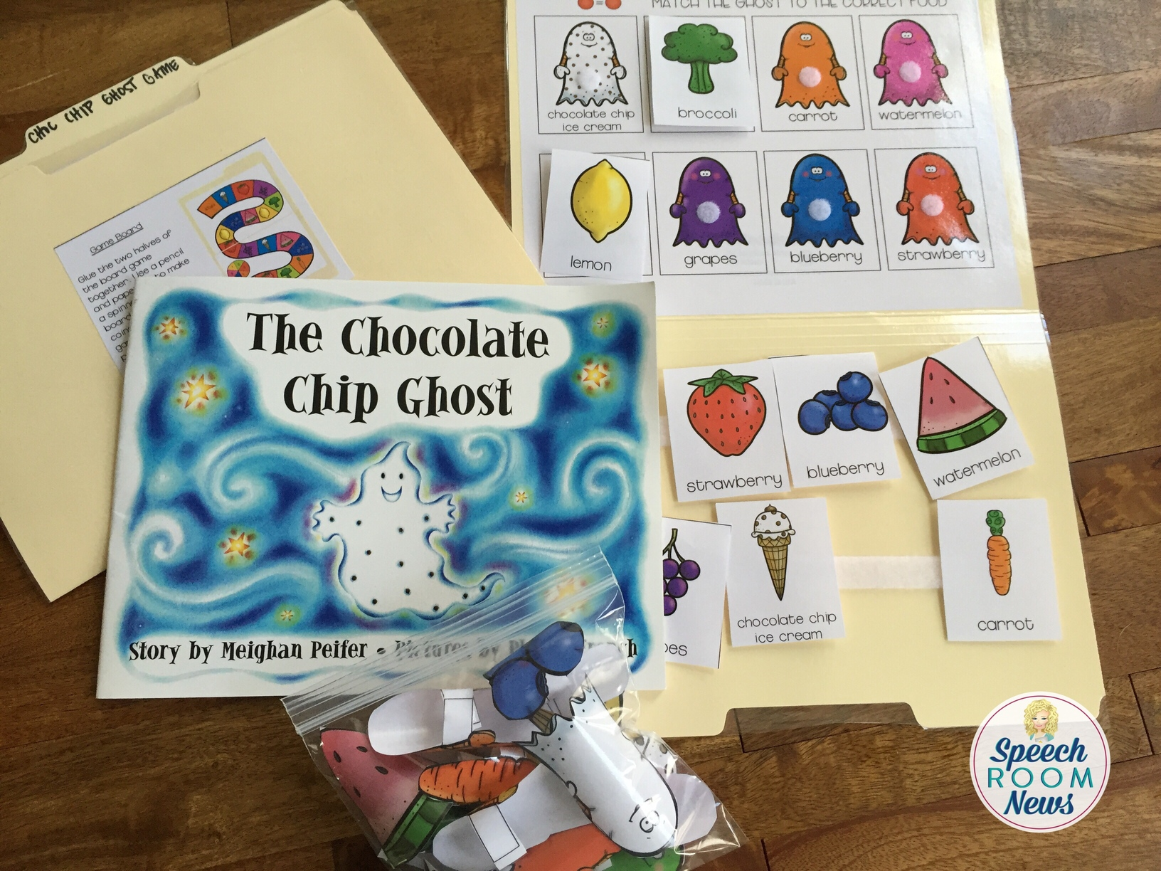 Chocolate Chip Ghost