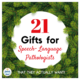 21 Gifts for Speech Language Pathologists (SLPs)