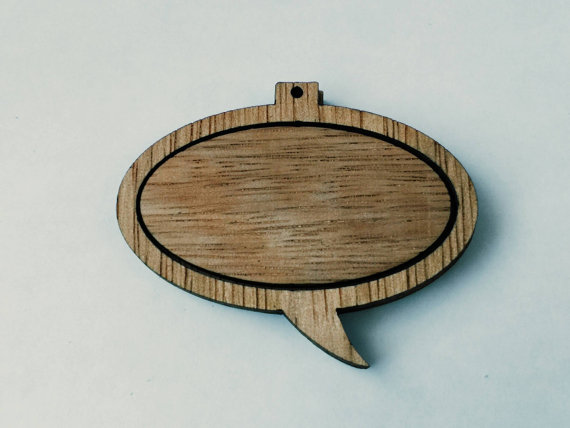 Speech Bubble Ornament