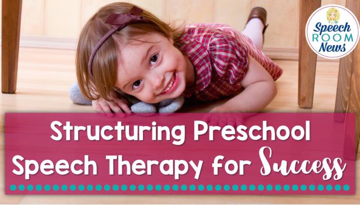 Setting the Environment for Success (Preschool SLP)