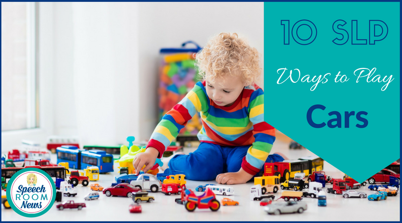10 SLP Ways to Play with Cars