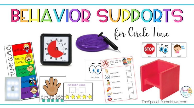 Behavior Supports for Circle Time (Favorite Resources)