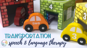 Transportation Speech and Language Activities