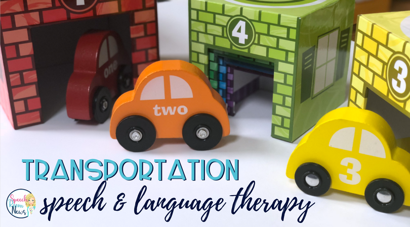 Transportation Speech and Language Activities