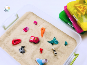 speech therapy mini objects