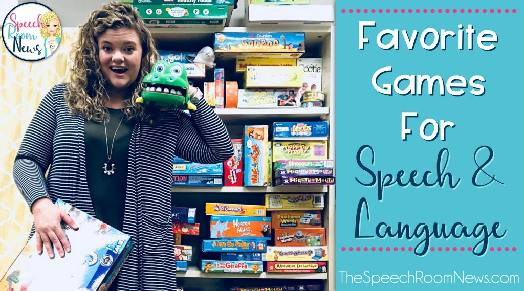 Favorite Games for Speech & Language