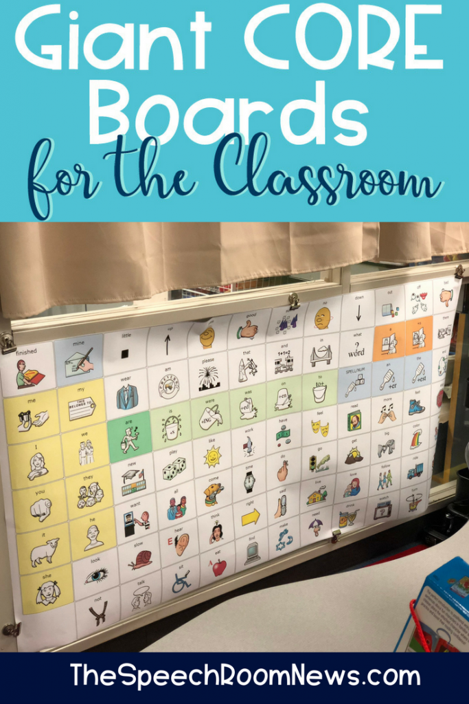 Core AAC Boards for the Classroom