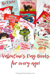 Pile of Valentine's DAy books