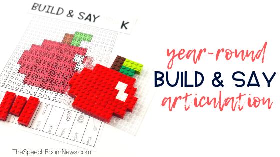 Build & Say: Brick Articulation