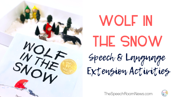 Wolf in the Snow Book Activities