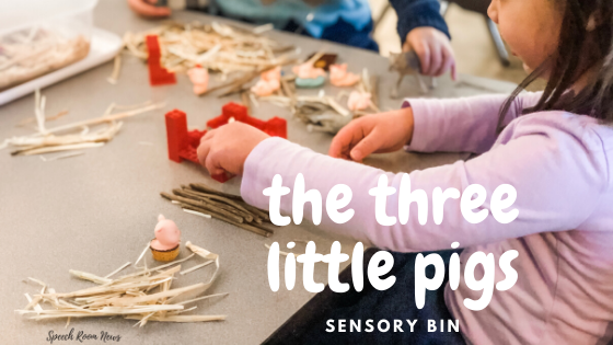 Photo of The sensory tank of the three little pigs