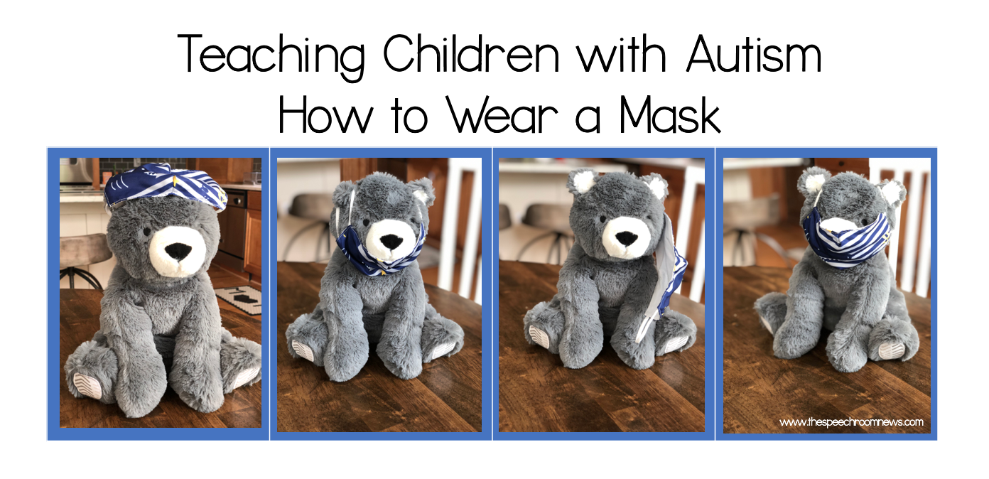 Photo of Teaching children with autism to wear masks