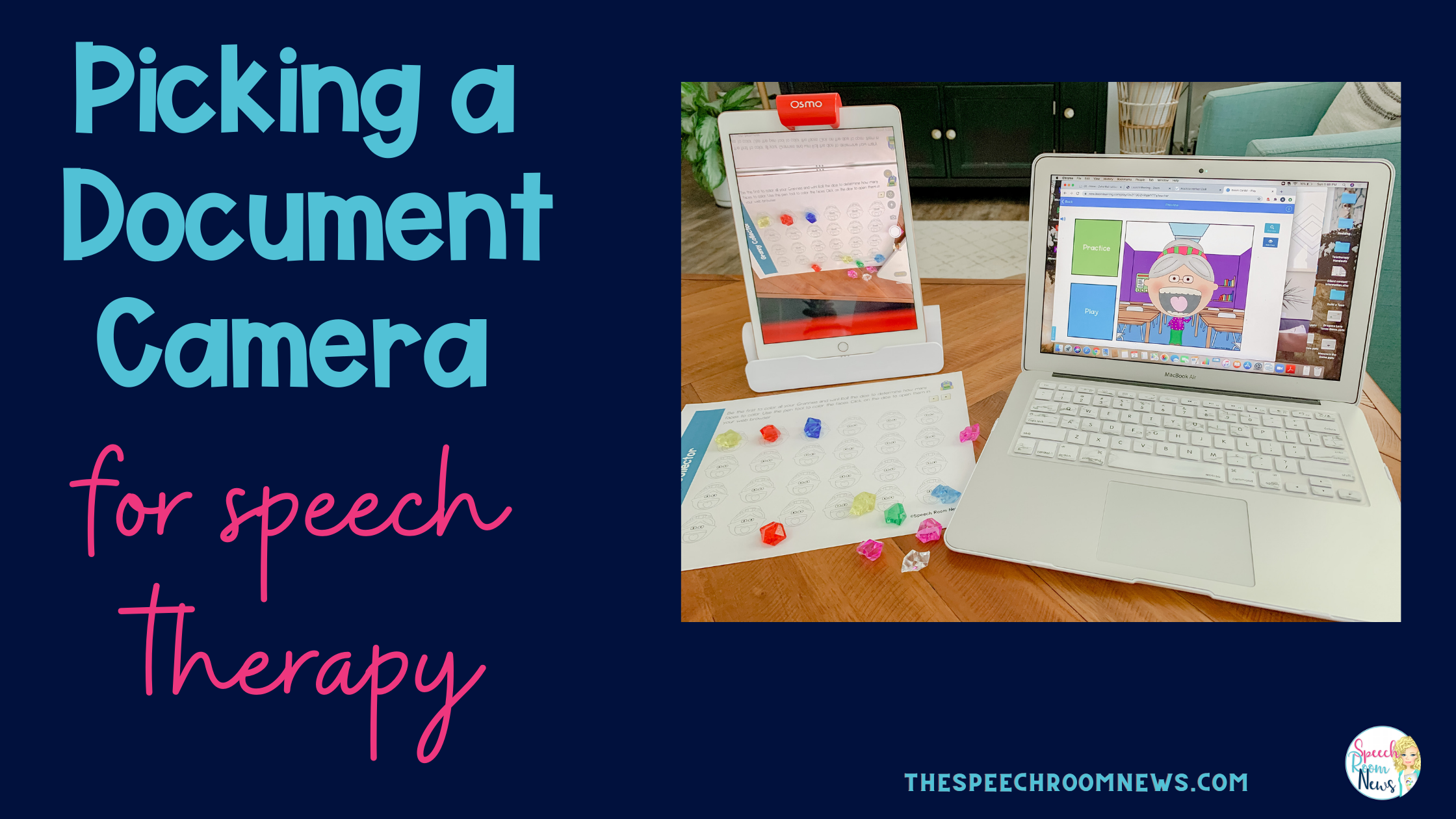 Photo of Choose a document camera for speech therapy.