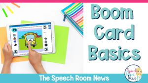 boom cards speech therapy